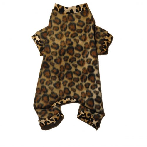 cheetah pajama s - back