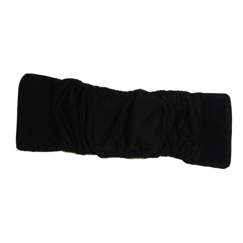 belly band backing - black