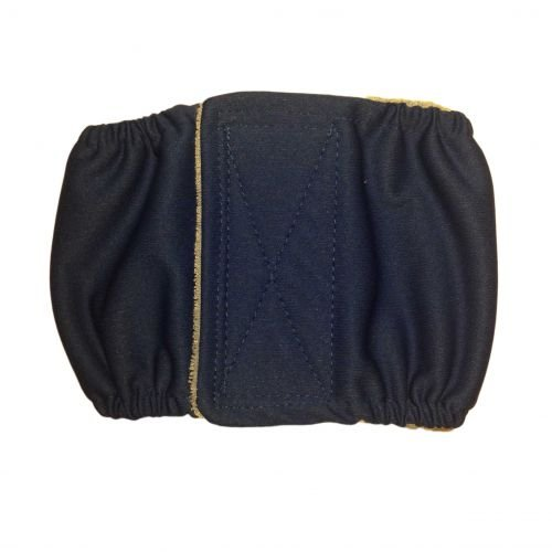 dark blue PUL belly band