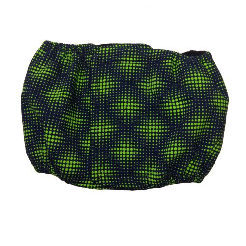 green double dots belly band