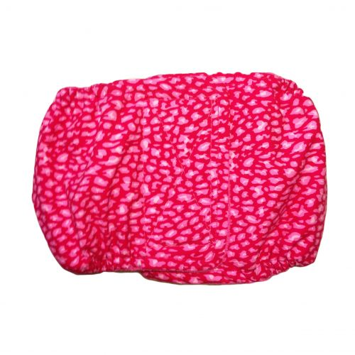 pink leopard belly band