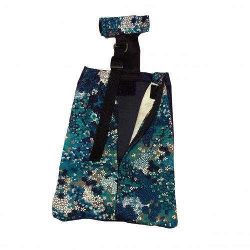 turquoise-drag-bag-open