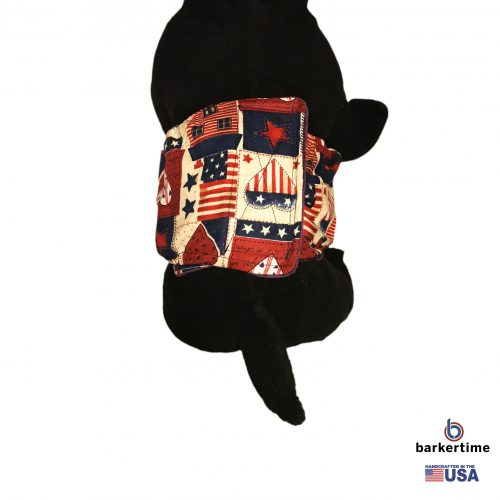 hearts and patriotic love belly band - model 2