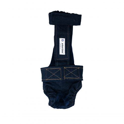 denim diaper overall - new