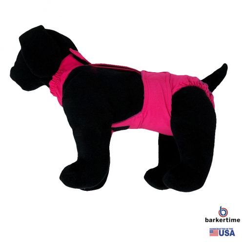 hot pink diaper overall - model 1