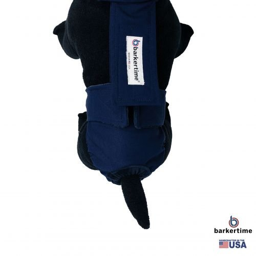 navy blue diaper overall - model 2