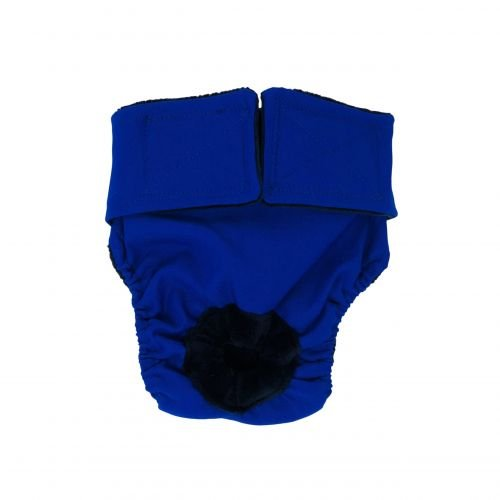 royal blue diaper