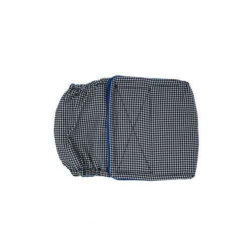black and white gingham belly band