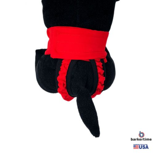 cherry red diaper pull-up - new - model 2