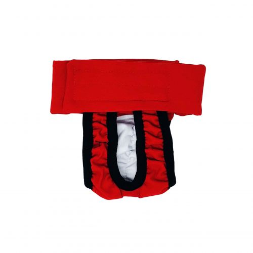 cherry red diaper pull-up - new