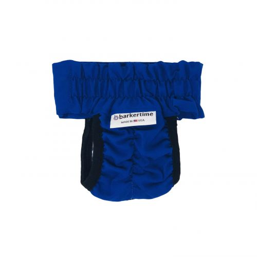 royal blue diaper pull-up - new - back