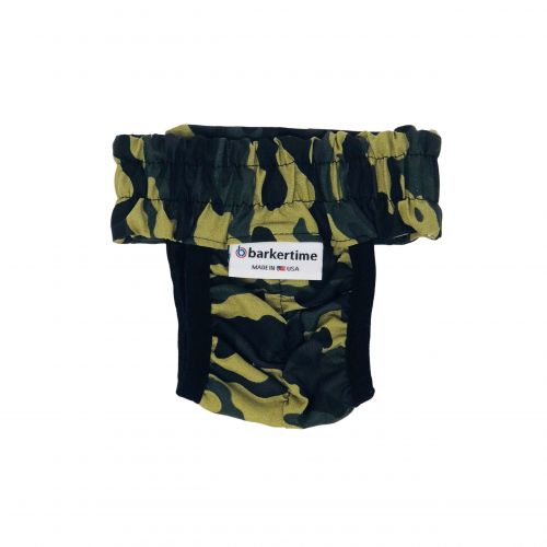 camo diaper pull-up - new - back