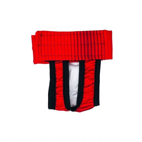 red stripes waterproof diaper pull-up