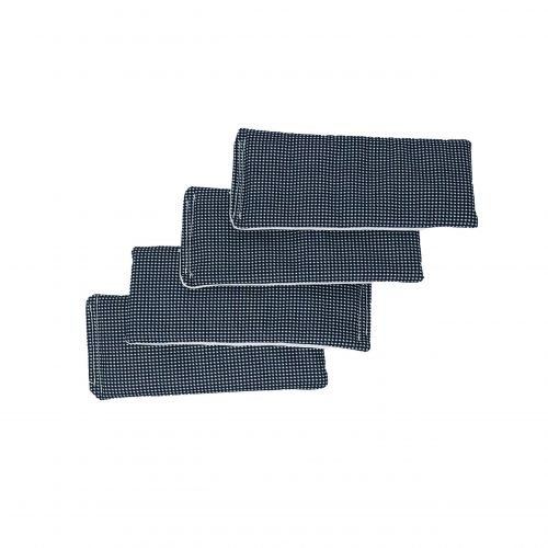gingham liners 4pk