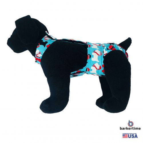 holiday doggie diaper overall - model 1
