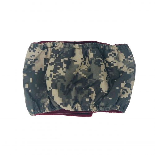 digital camo belly band - back