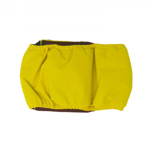 yellow waterproof belly band - back