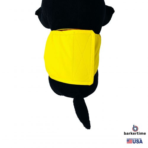 yellow waterproof belly band - model 2