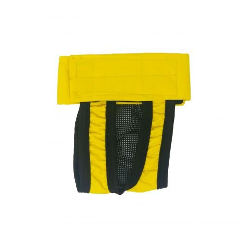 yellow waterproof diaper pull-up