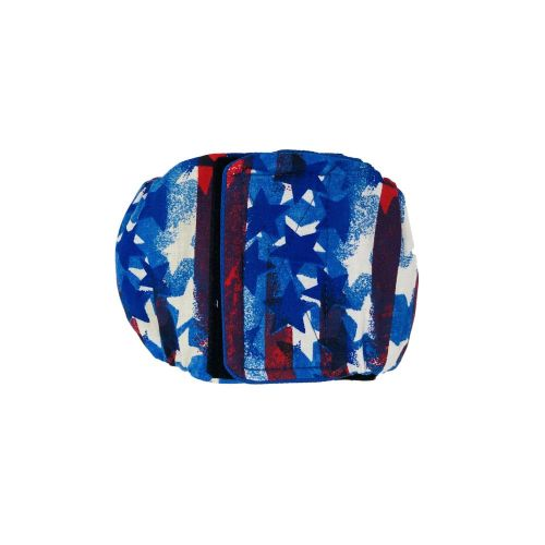 patriotic stars and stripes belly band