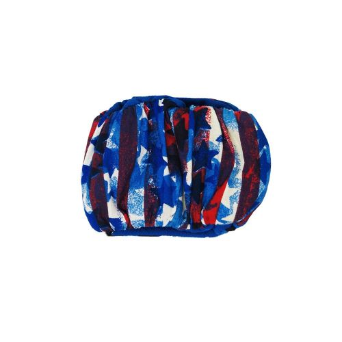 patriotic stars and stripes belly band - back