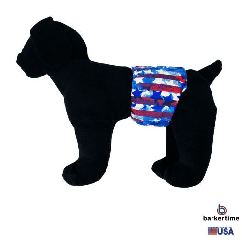patriotic stars and stripes belly band - model 1