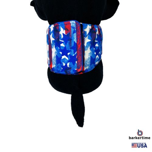 patriotic stars and stripes belly band - model 2